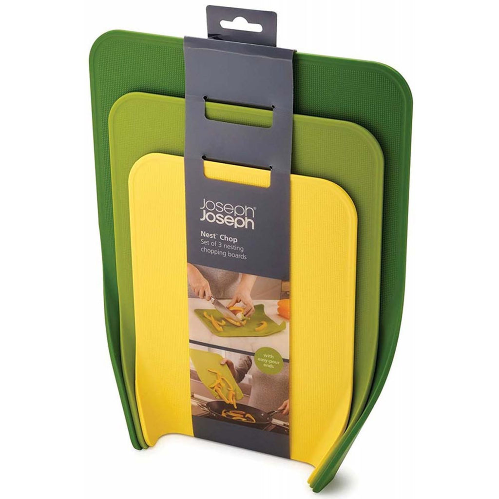 Joseph Joseph, Set of Three Green Chopping Boards