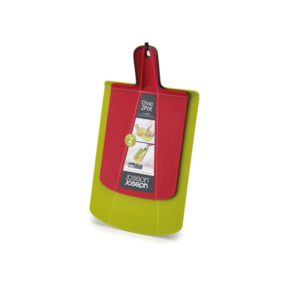 Joseph Joseph, Chop 2Pot 2-Pack, Green/Red