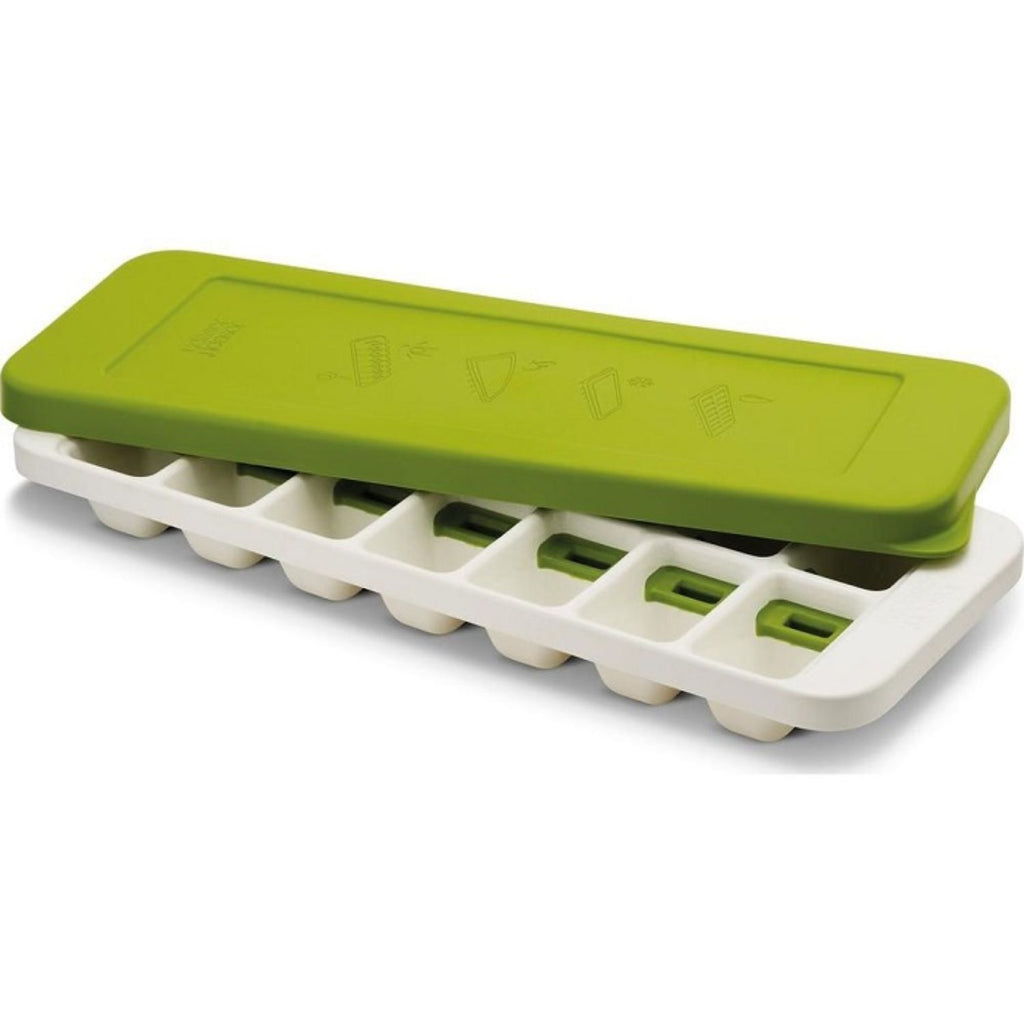 Joseph Joseph, Easy Release Ice Cube Tray with Stackable Lid, Green