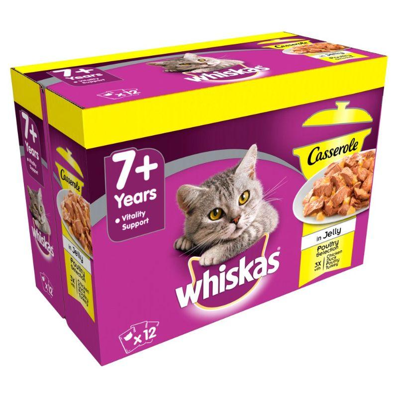Whiskas 7+ Pouch Poultry Selection 12x 85 G