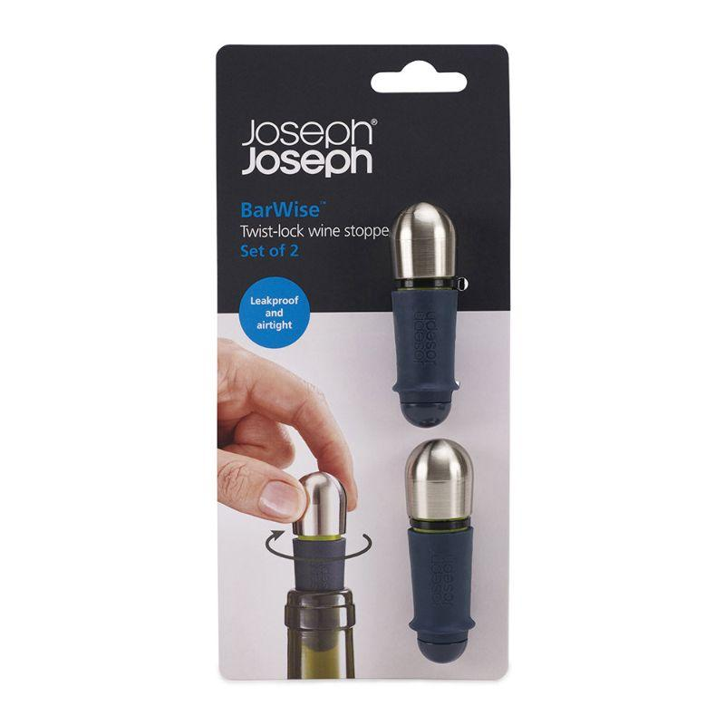 Joseph Joseph BarWise Twist-lock wine Stoppers Set of 2