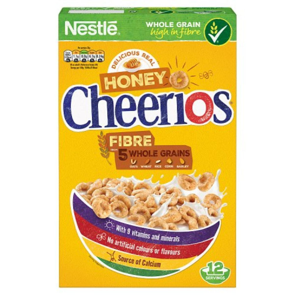 Nestle Honey Cheerios, 375 g
