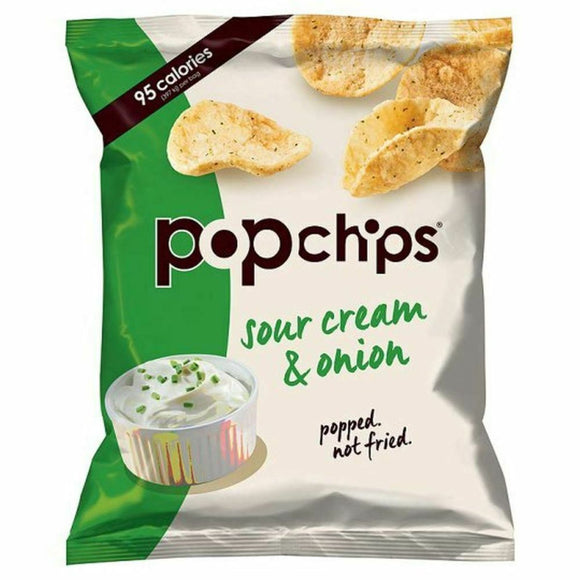 Popchips Gluten-Free Sour Cream & Onion, 23 g