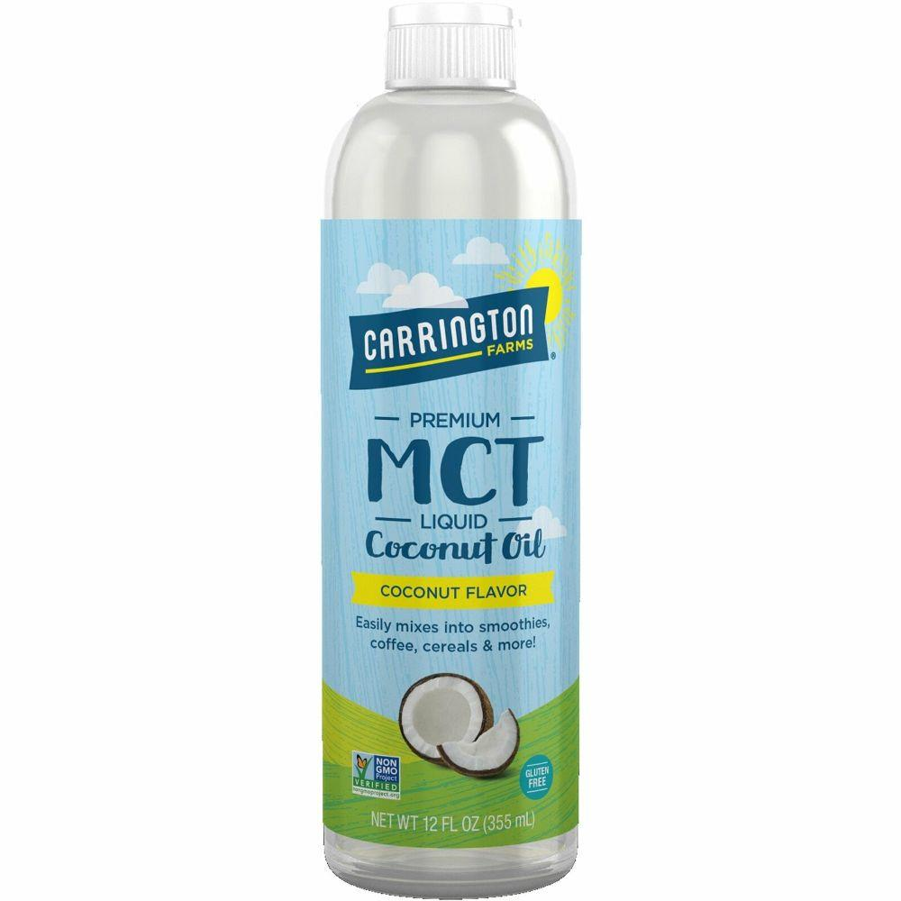 Carrington Farms Premium MCT Liquid Coconut Oil, 12 oz