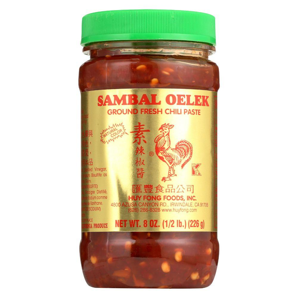 Huy Fong Sambal Oelek Ground Fresh Chili Paste, 8 oz
