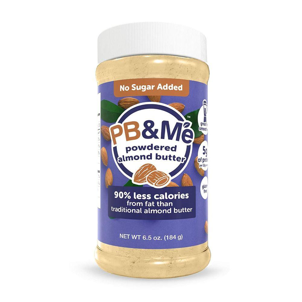 PB&ME Gluten Free Powdered Almond Butter, 6.5 oz (BB: 5-03-2020)