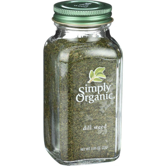 Simply Organic Dill Weed, 0.81 oz