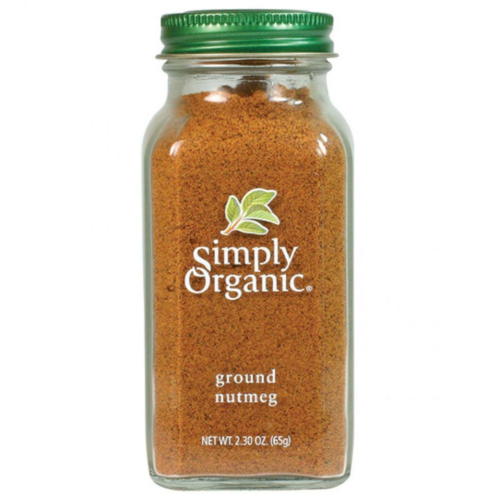 Simply Organic Ground Nutmeg, 2.3 oz
