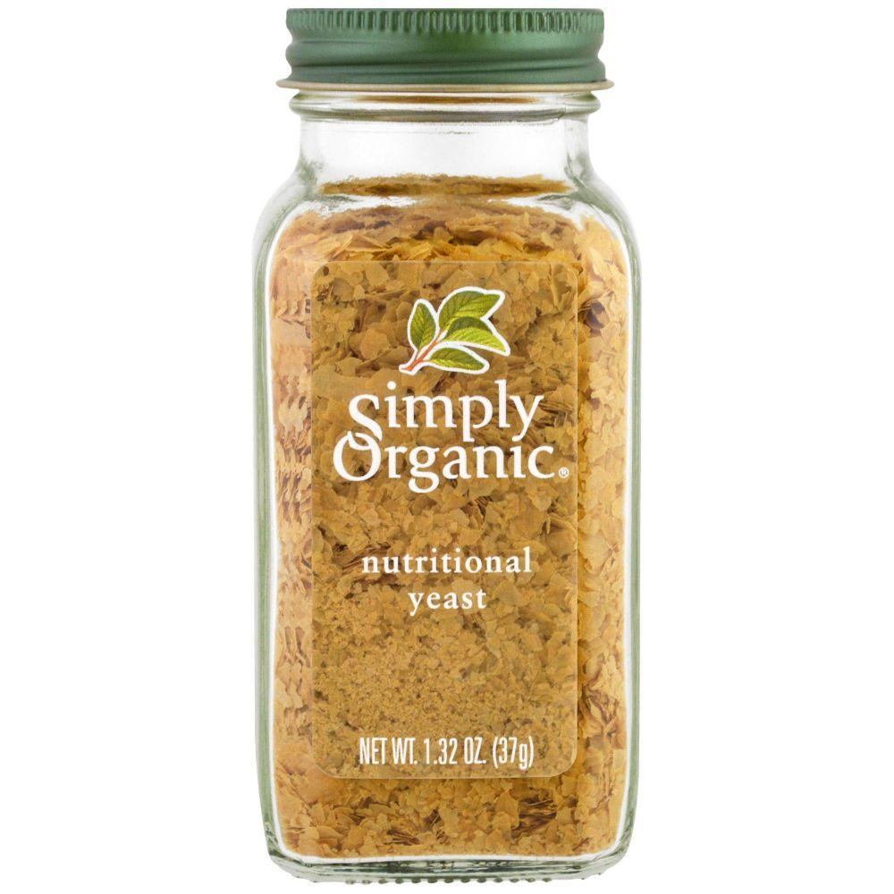 Simply Organic Nutritional Yeast, 1.32 oz