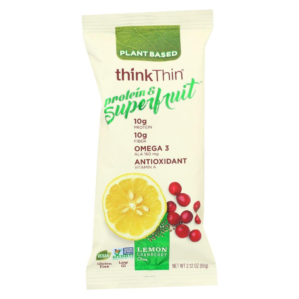 Think Thin Lemon Cranberry Chia, 2.12 oz