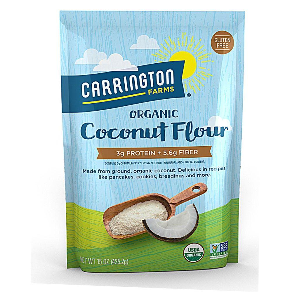 Carrington Farms Organic Gluten-Free Coconut Flour, 15 oz