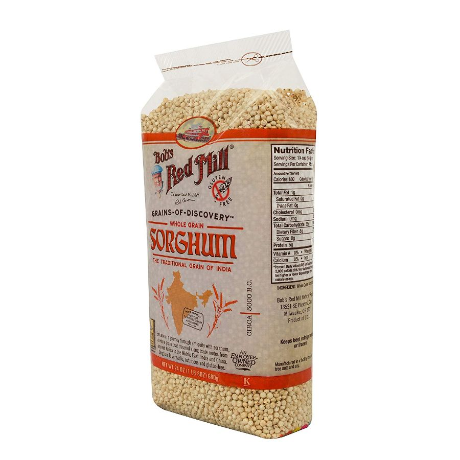 Bob's Red Mill Gluten Free Whole Grain Sorghum , 24 oz