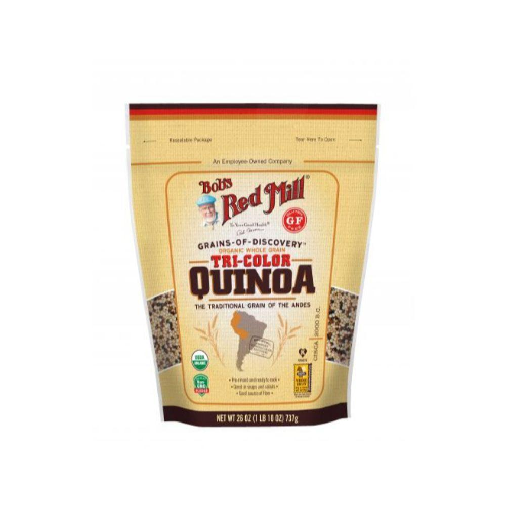 Bob's Red Mill Organic Gluten Free Tri-Color Quinoa, 26 oz