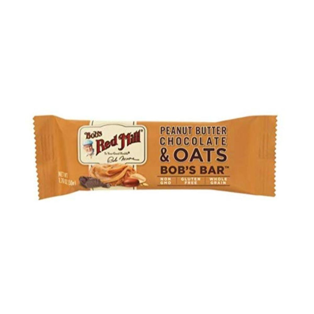 Bob's Red Mill Gluten Free Peanut Butter Chocolate & Oats Bar, 1.76 oz
