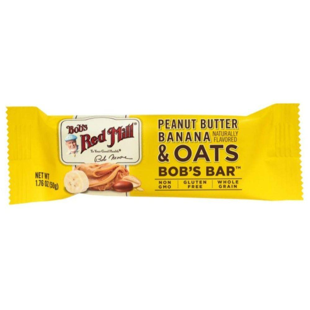 Bob's Red Mill Gluten Free Banana & Oats Bar, 1.76 oz (BB: 25-02-2020)