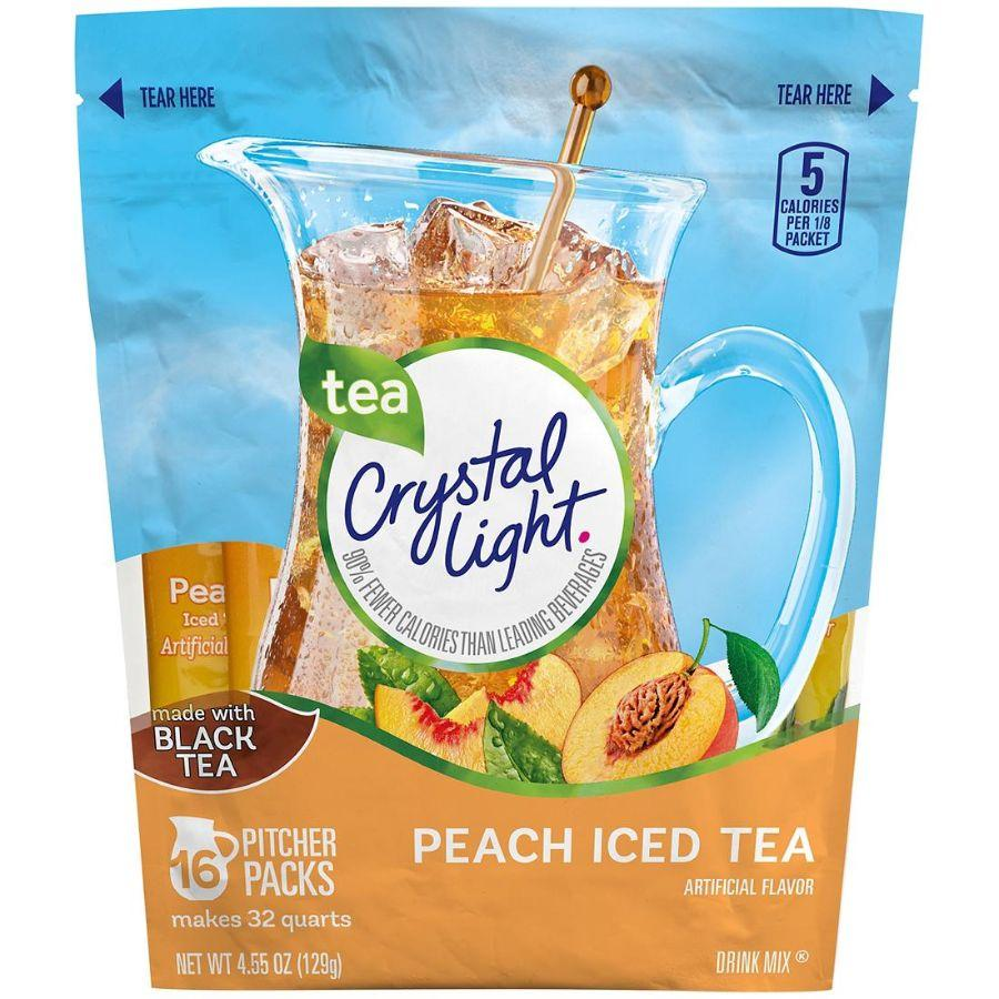 Crystal Light Peach Iced Tea, 16 ct