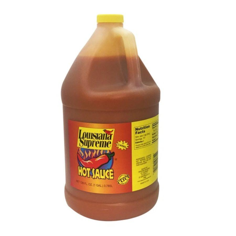 Louisiana Supreme Hot Sauce, 1 gal