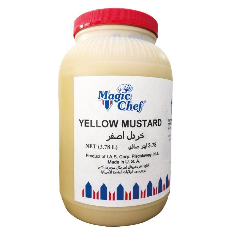 Magic Chef Yellow Mustard, 1 Gal
