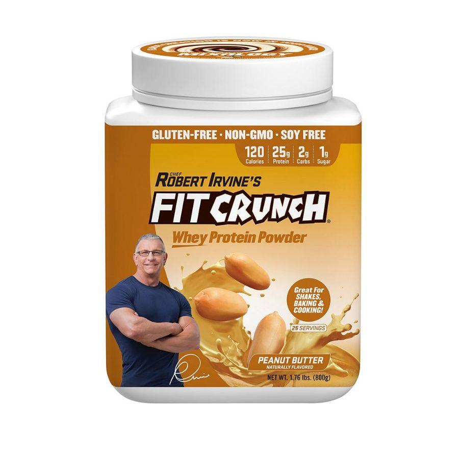 Fit Crunch Whey Protein Powder Peanut Butter, 1.81 lb
