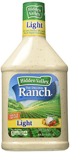 Hidden Valley Light Ranch Dressing, 40 oz (BB: 7-04-2020)
