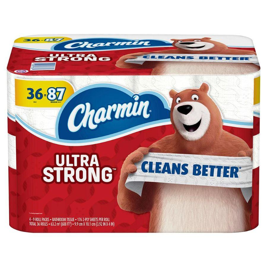 Charmin Ultra Strong 176 Tissues, 36 Rolls