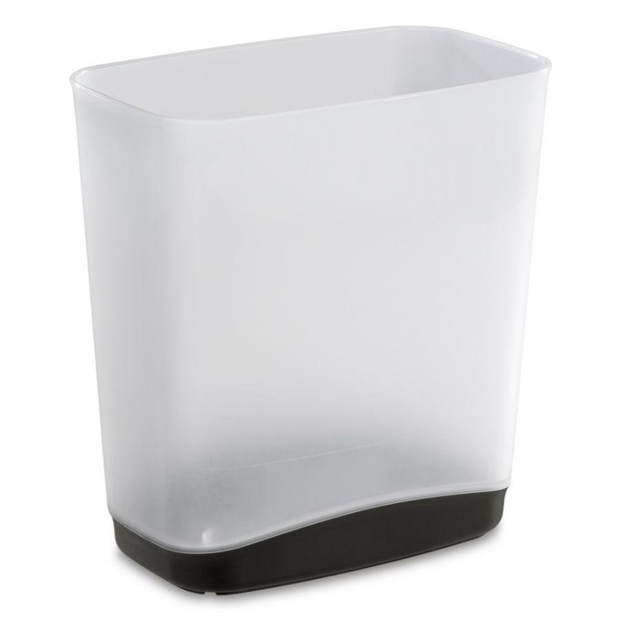 Sterilite Rectangular Slim Waste Basket, 3.3 Gal