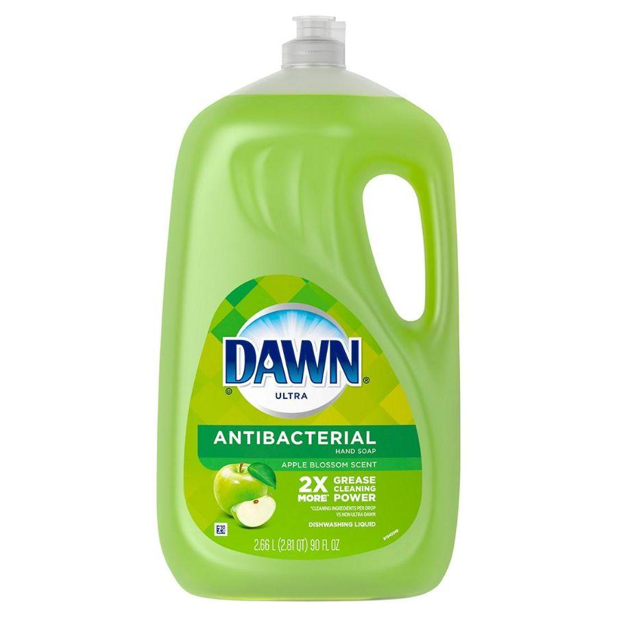 Dawn Ultra AntiBacterial Apple Blossom Scent Dishwashing Liquid, 90 oz