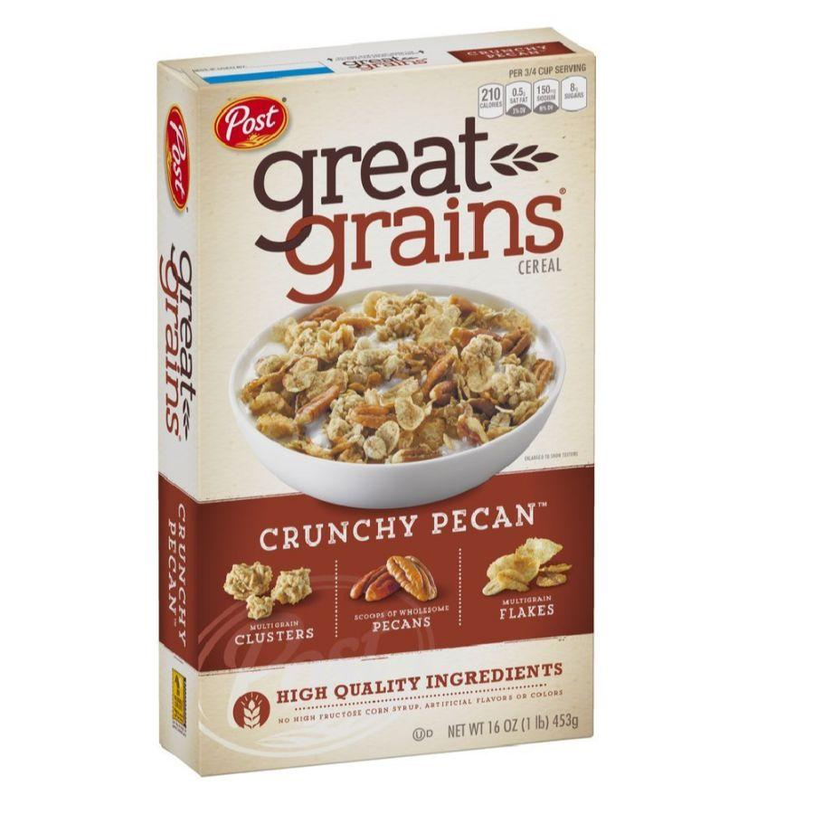 Post Great Grains Crunchy Pecan, 16 oz (BB:03-06-20)