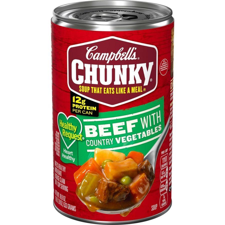 Campbell's Chunky Beef With Country Vegetables, 18.8 oz