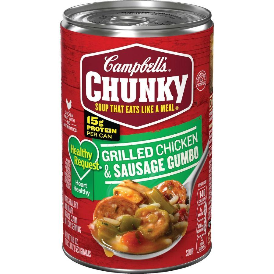 Campbell's Grilled chicken & Sausage Gumbo, 18.8 oz