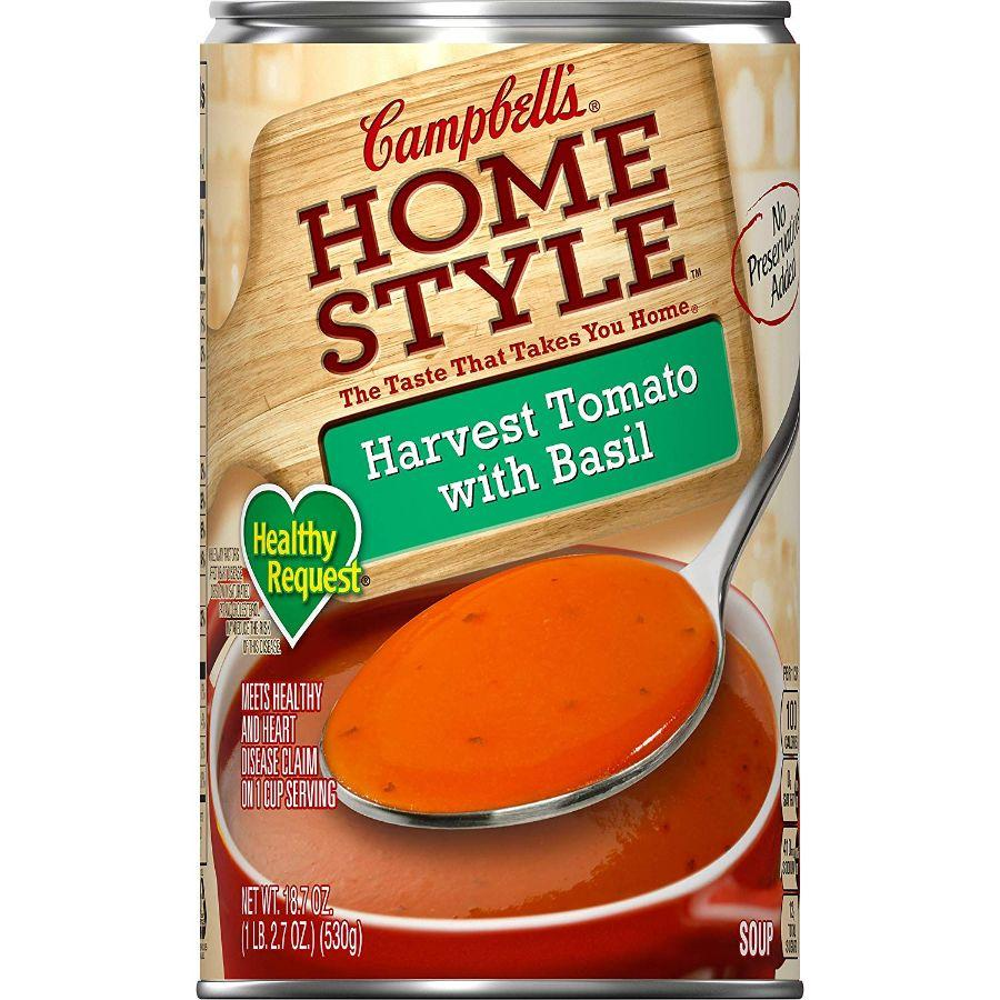 Campbell's Homestyle Harvest Tomato with Basil, 18.6 oz