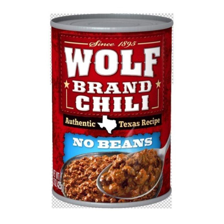 Wolf Chili Plain, 19 oz
