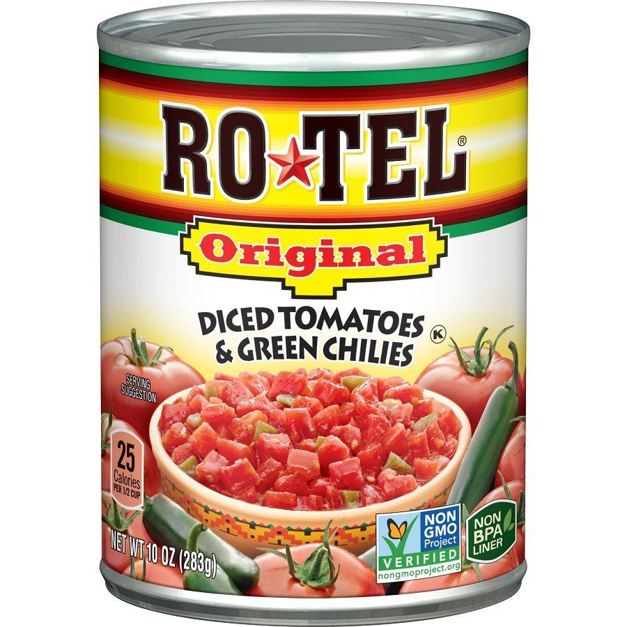 Rotel Diced Tomatoes with Green Chilies, 10 oz