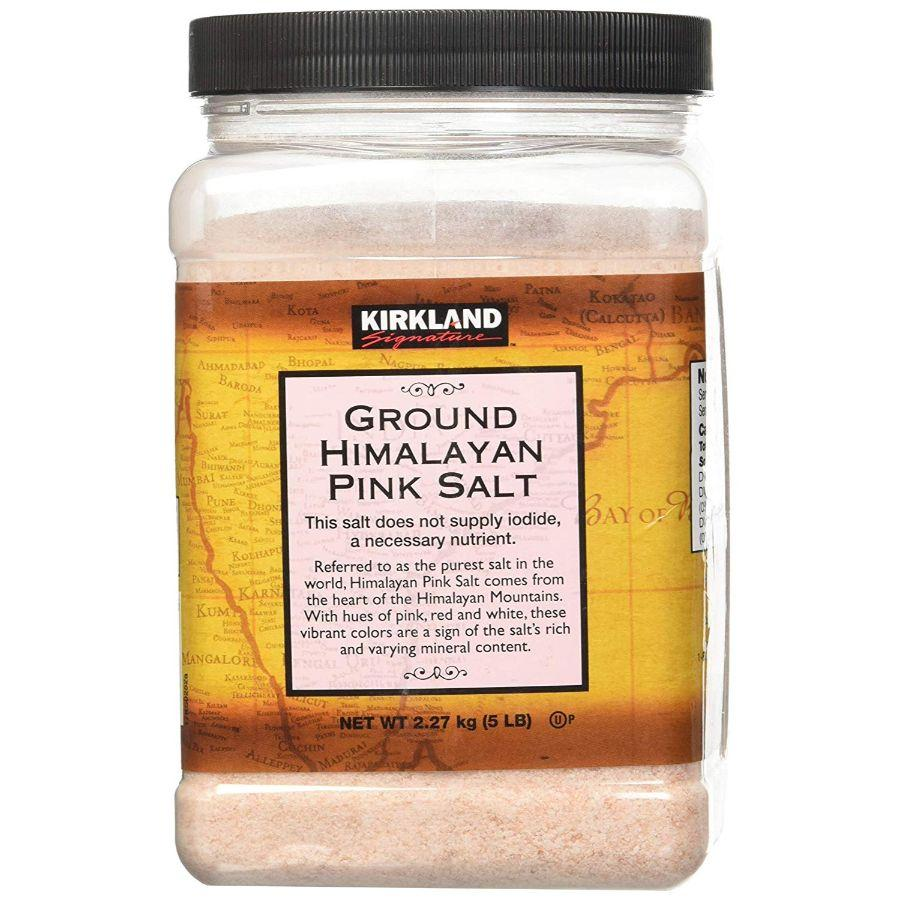 Kirkland Signature Ground Himalayan Pink Salt, 5 lb