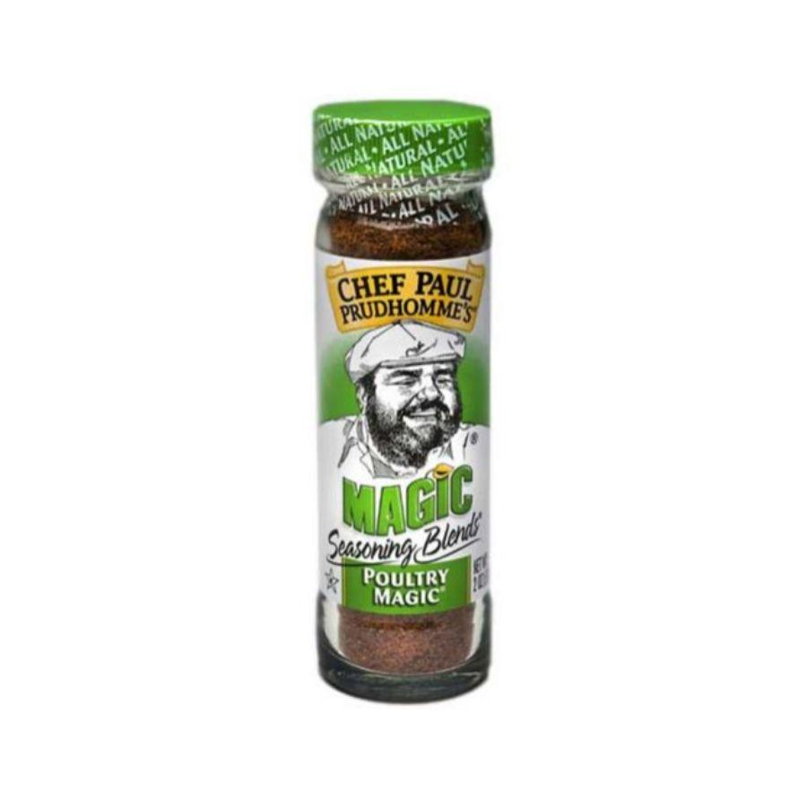Chef Paul Poultry Magic Seasoning Blend, 2 oz