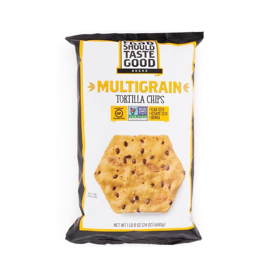 Food Should Taste Good Multigrain Tortilla Chips,24 oz