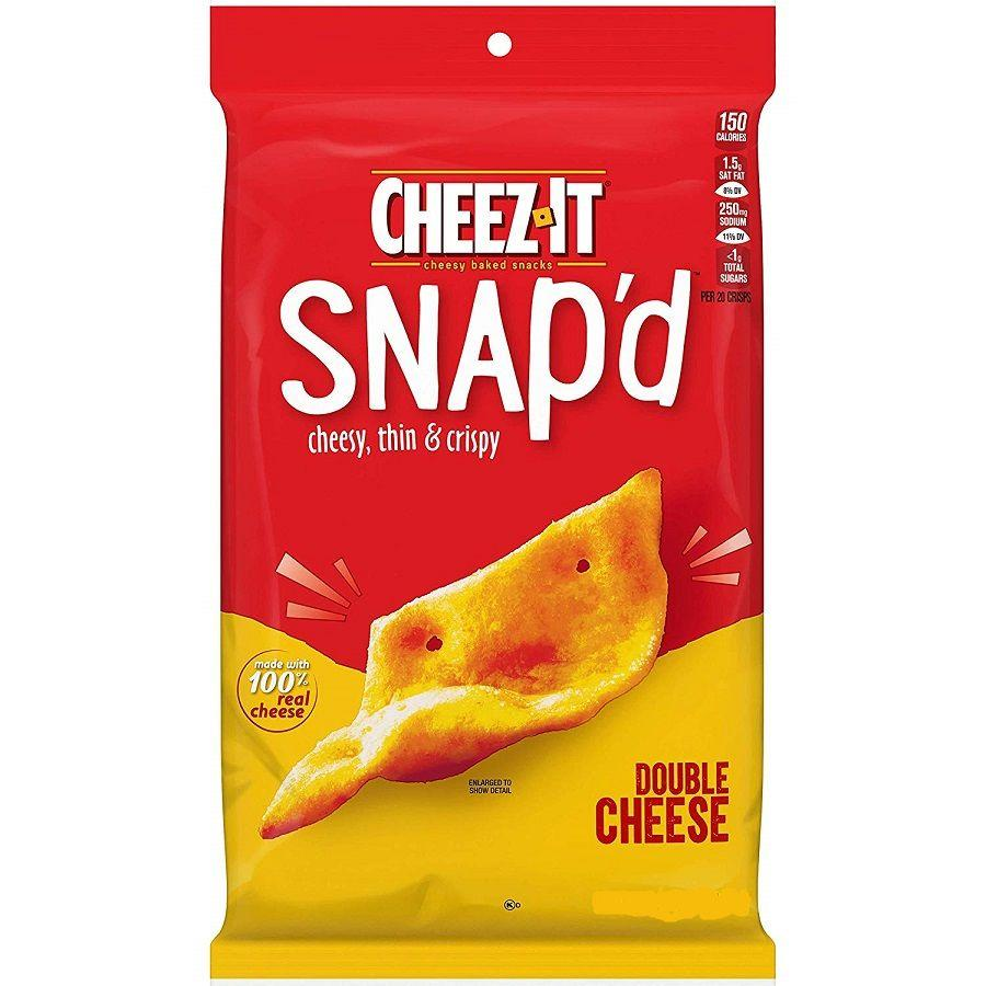 Cheez It Snap'd Double Cheese Baked Snacks, 20 oz