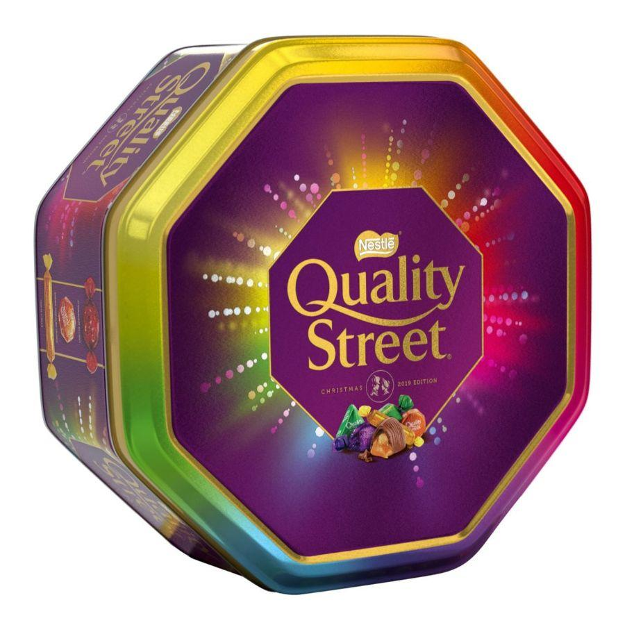 Nestle Quality Street Christmas Tin, 1 kg