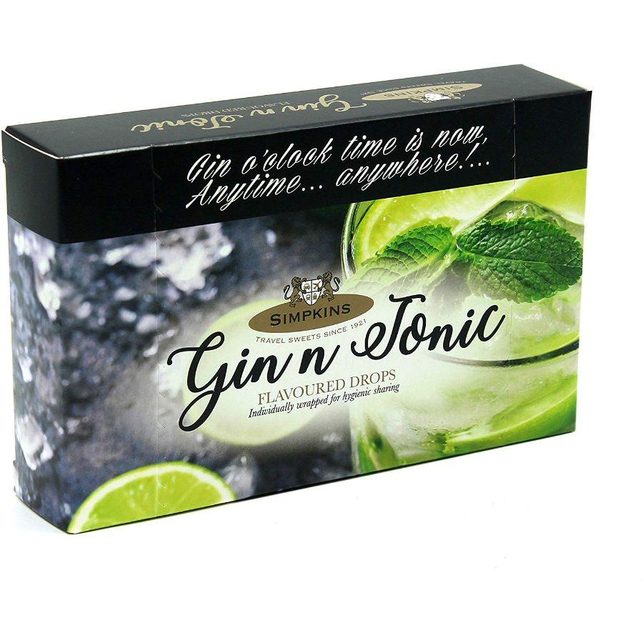 Simpkins Gin & Tonic Flavour Drops, 120 g