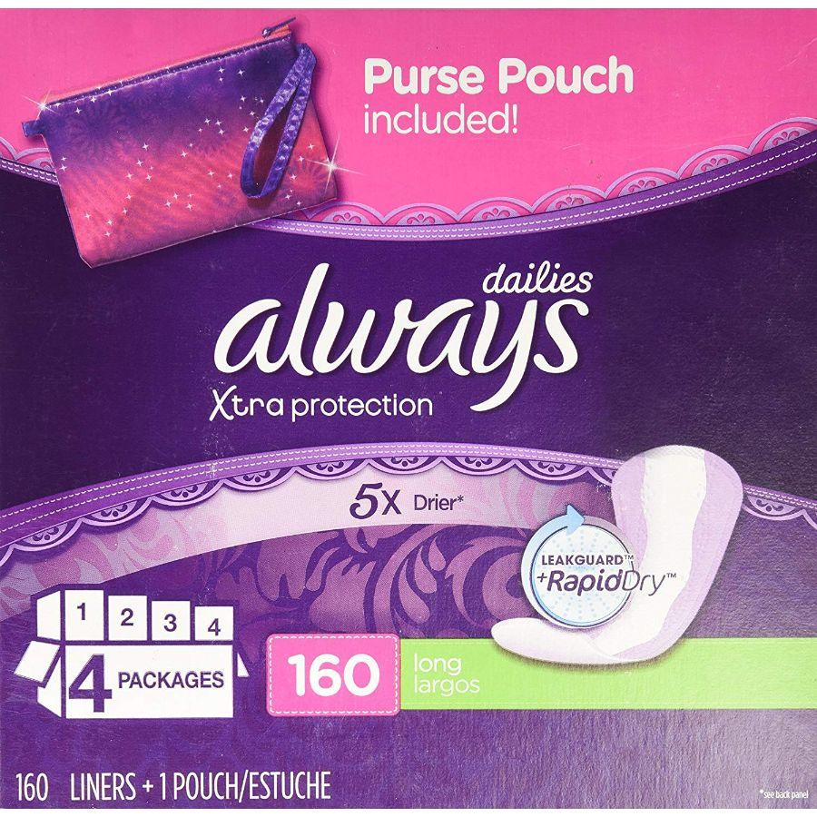 Always Dailies Xtra Protection Long, 160 ct
