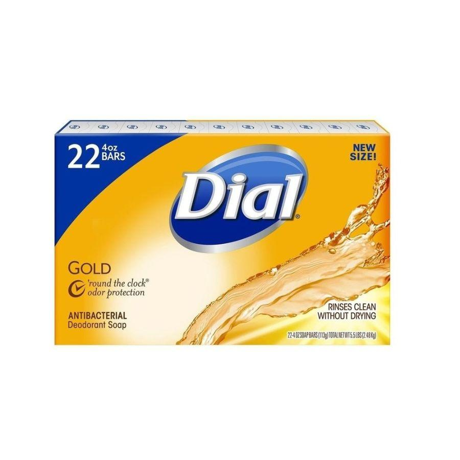 Dial Soap Bar Gold, 22x 4 oz