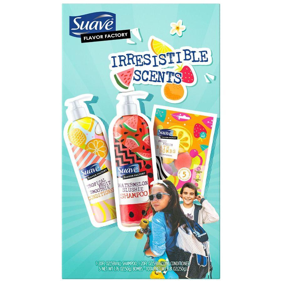 Suave Kids Shampoo & Conditioner Set +5 Bath Bombs