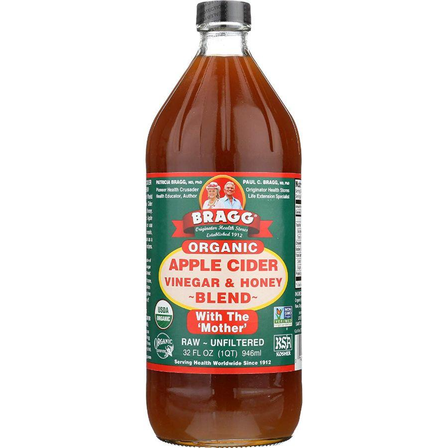 Bragg Organic Apple Cider Vinegar & Honey Blend, 32 oz