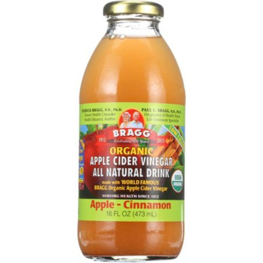 Bragg Organic Apple Cider Vinegar Drink Apple-Cinnamon, 16 oz