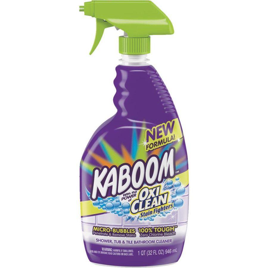 Kaboom w Oxi Clean Shower -Tub & Tile Bathroom Cleaner, 32 oz