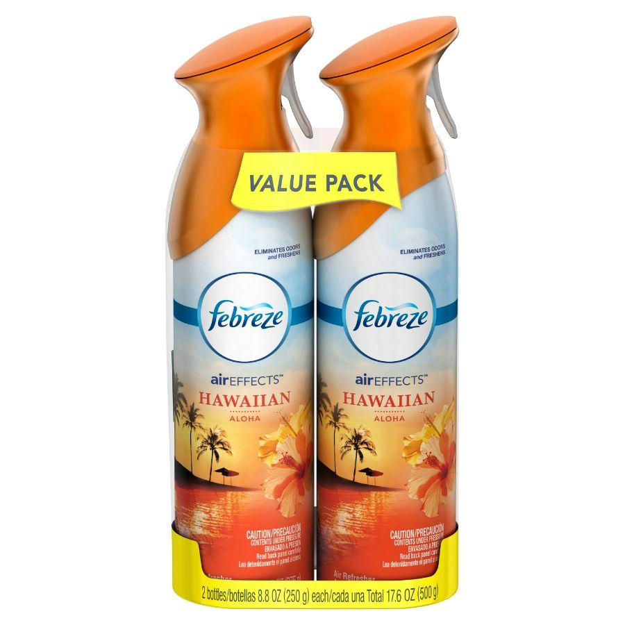 Febreze Air Freshener Hawaiian Aloha, 2 x 17.6 oz