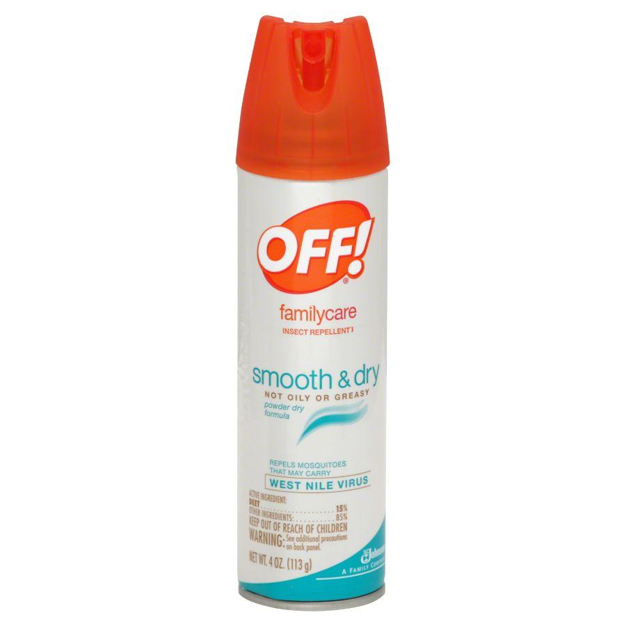OFF! Family Care Insect Repellent Spay, 4 oz
