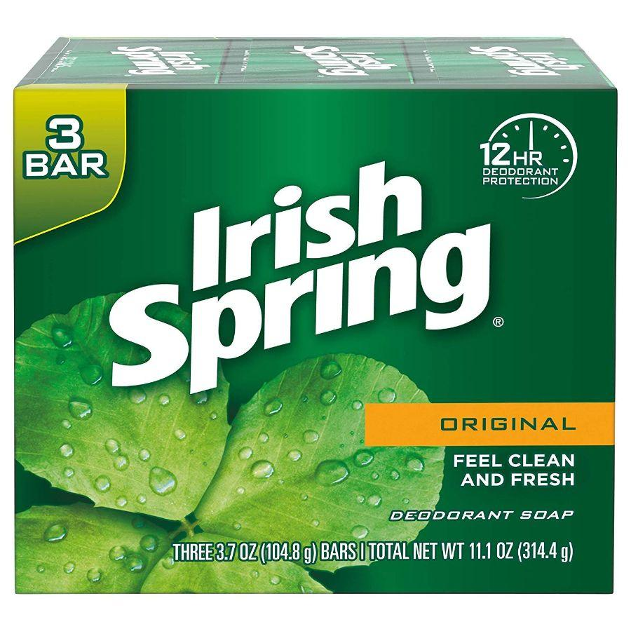 Irish Spring Original Soap Bars, 3 ct