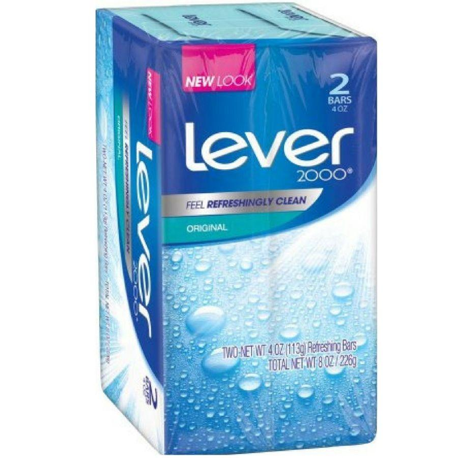 Lever 2000 Original Soap Bar, 2 ct