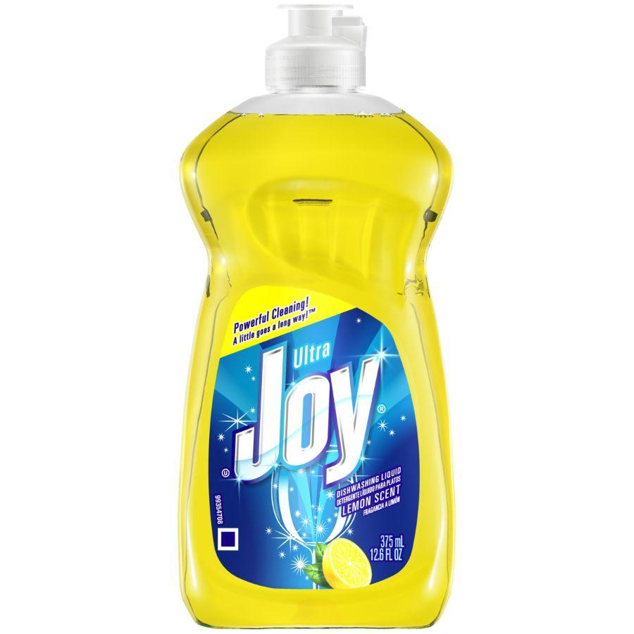 Joy Dishwashing Liquid Lemon, 12.6 oz